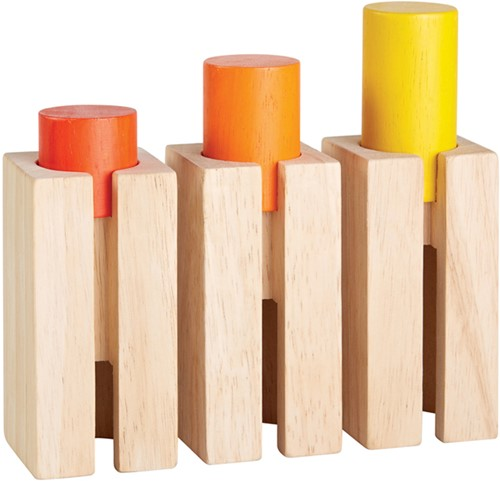 Plan Toys Hoogte en diepte blokken 5377