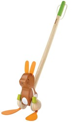 Plan Toys houten trekfiguur Dancing Bunny 5437