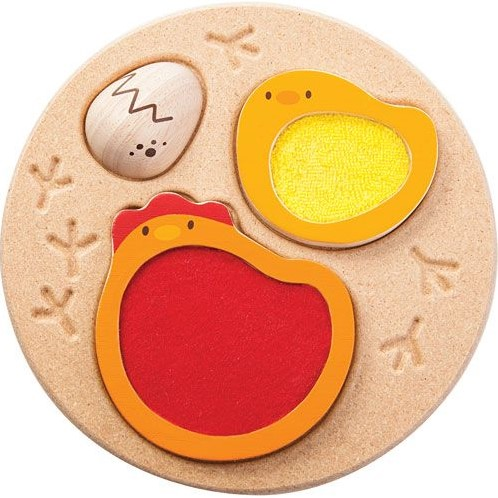 Plan Toys  houten vormenpuzzel Chicken Puzzle-2