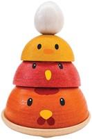Plan Toys  houten stapelfiguur Chicken Nesting-1