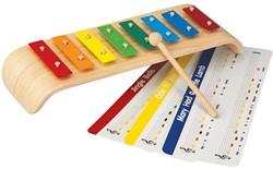 Plan Toys  houten muziekinstrument Xylofoon