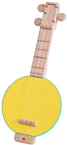 Plan Toys houten muziekinstrument Banjolele