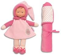Corolle - Babi Corolle knuffelpop - Miss Pink & Blanket-2