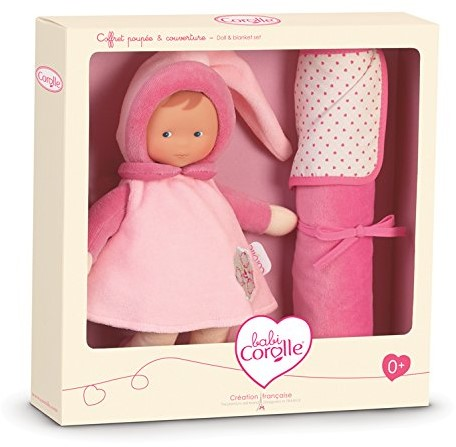 Corolle - Babi Corolle knuffelpop - Miss Pink & Blanket