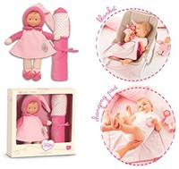 Corolle - Babi Corolle knuffelpop - Miss Pink & Blanket-3