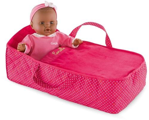 Corolle poppen accessoires Carry Bed Cherry  DMT95-3