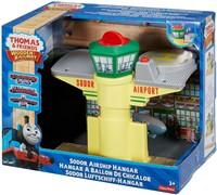Thomas and Friends houten trein gebouw Sodor Zeppelin airport