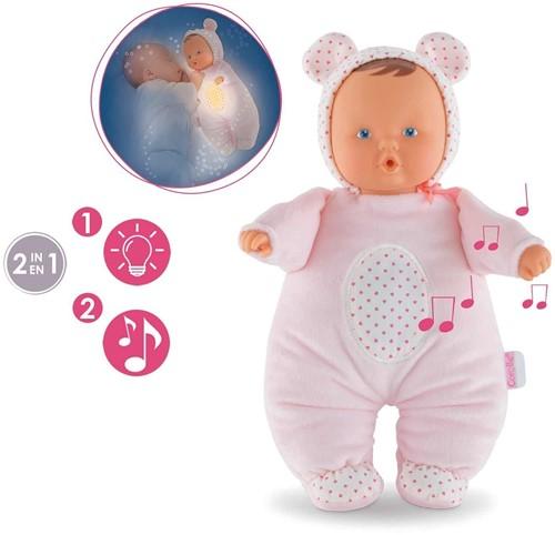 Corolle pop Babibear Nightlight Pink FBD09-2