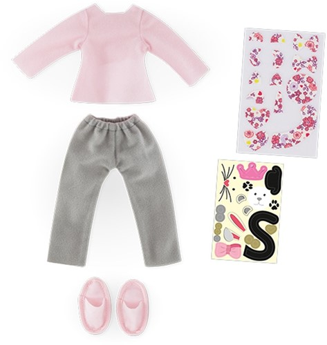 Corolle poppenkleding Mcc Pajama & Sleepers Set To Be Customized FBL53