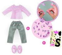 Corolle poppenkleding Mcc Pajama & Sleepers Set To Be Customized FBL53-2