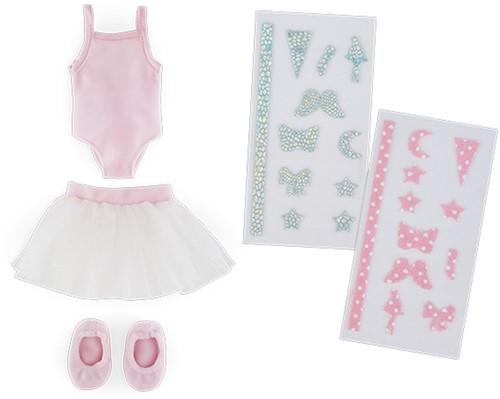 Corolle poppenkleding Mcc Dance Lesson Set To Be Customized FBL55-1