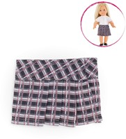 Corolle poppenkleding Mc Checked Skirt FCB98-3
