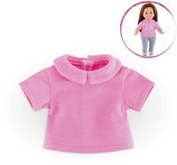 Corolle poppenkleding Mc Polo Shirt Pink  FCC00-3