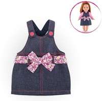 Corolle poppenkleding Mc Overall Dress Denim  FCH97-2