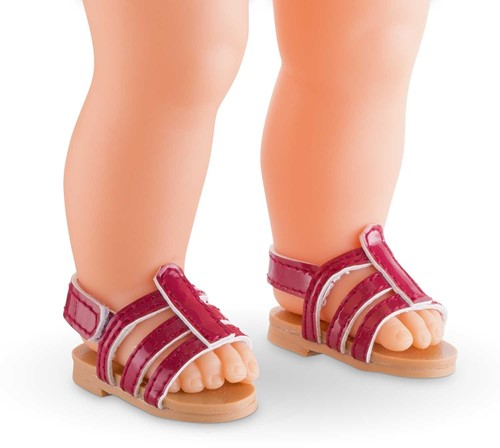 Corolle poppenkleding Mc Sandals Cherry  FCL59-2