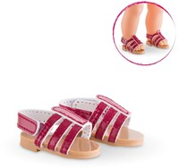 Corolle poppenkleding Mc Sandals Cherry  FCL59-3