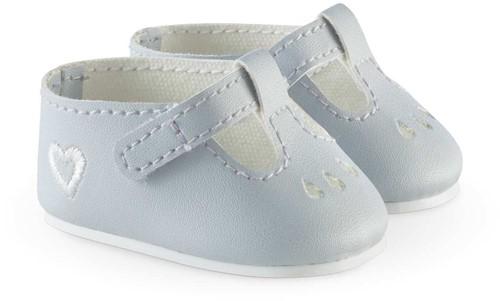 Corolle Mon Grand Poupon kleding Ankle Strap  Shoes-Grey 36 cm