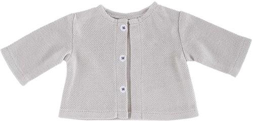 Corolle Ma Corolle kleding Cardigan-Light Grey  36 cm