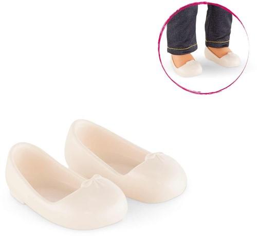 Corolle poppenkleding Mc Ivory Ballet Flat Shoes FGF74-3