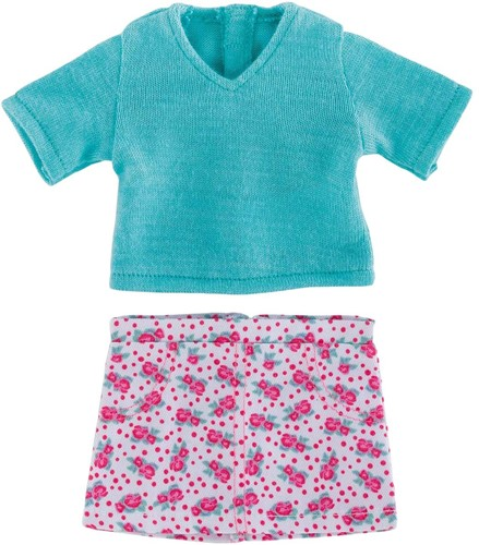 Corolle poppenkleding Mc Floral Skirt & Pullover  FGL78-1