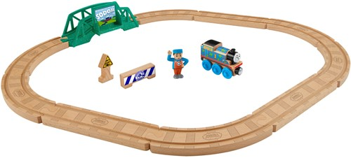 Thomas de Trein houten trein 5-in-1 builder set