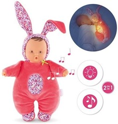 Corolle Mon Doudou Babibunny Nightlight-Floral Bloom 31 cm