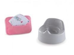 Corolle accessoire voor 30 cm pop -  Potty & Wipes