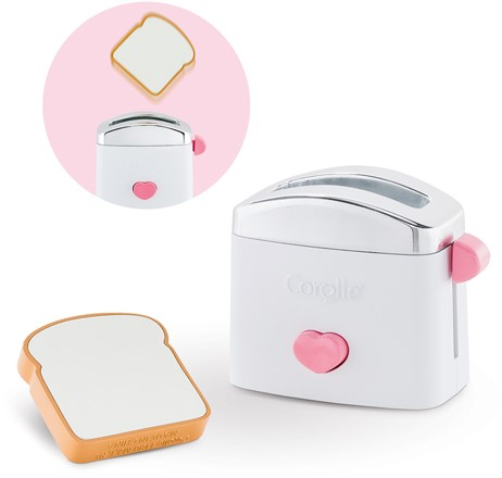 Corolle Mon Grand Poupon accessoire Bb 14''/17'' Toaster & Toast 36-42 cm
