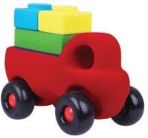 Rubbabu Rubbablox Truck Set (with four starter blocks)