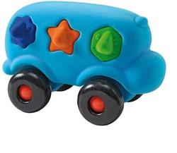 Rubbabu Shape Sorter Bus (Turquoise)
