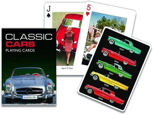 Classic Cars Speelkaarten - Single Deck