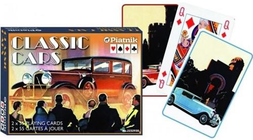 Classic Cars Speelkaarten - Double Deck