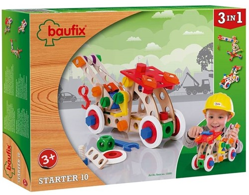Baufix  houten constructie speelgoed Starter 10 10300