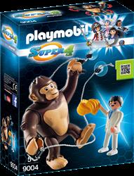 Playmobil Super 4 Reuzenaap Gonk 9004