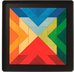 Grimm's Magnet Puzzle Square Indian