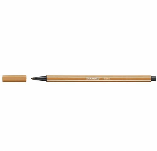 STABILO pen 68 donker oker