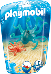 Playmobil Family Fun - Inktvis met jong  9066