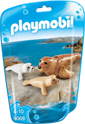 Playmobil Family Fun - Zeehond met pups  9069