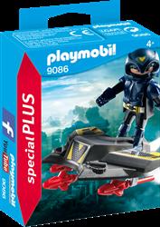 Playmobil  Special Plus Ruimteridder met jet 9086