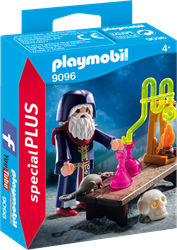 Playmobil - Special Plus - Tovenaar met laboratorium