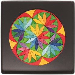 Grimm's Magnet Puzzle Circle Flower