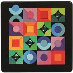Grimm's Magnet Puzzle Triangle, Square, Circle