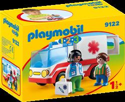 Playmobil 1.2.3 - 1.2.3 Ziekenwagen  9122