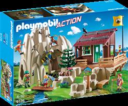 Playmobil Action - Bergbeklimmers met berghut  9126