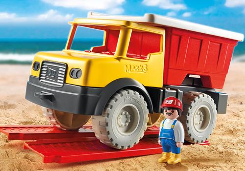 Playmobil Sand - Kiepwagen met emmer  9142-3