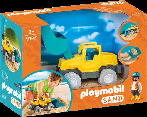 Playmobil Sand - Graafmachine met schep  9145