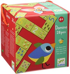 Djeco spel Domino 1,2,3