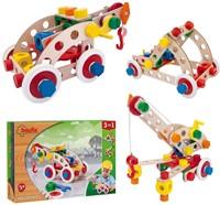 Baufix  houten constructie speelgoed Multi Set 1 10410-3