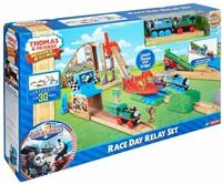 Thomas and Friends  houten trein set Race Delay Relay Set-1