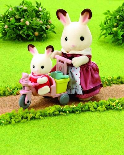 Sylvanian Families  speel figuren Baby rijspeelgoed - 3567-3